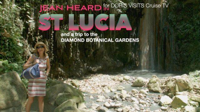 St. Lucia, trip to Diamond Falls Botanical Gardens. Jean's report for Doris Visits