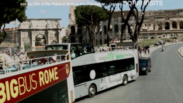 ROME: First time? Confused? Train and Bus Tour? excellent value, great guide