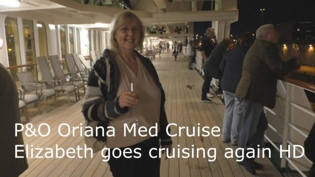 P&O Oriana, Elizabeth Goes Cruising Again for Doris Visits