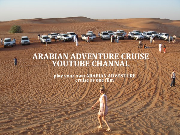 Arabian Cruise Destinations YouTube Channel – from shopping in Dubai to…..