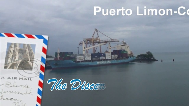Puerto Limón, Costa Rica – New Port Expansion planned. Film of inland boat trip.