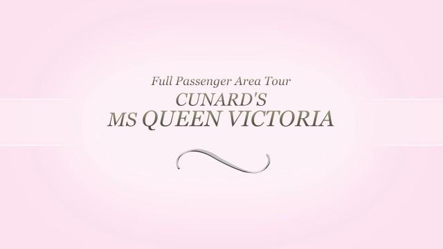 Queen Victoria. All passenger area video tour.