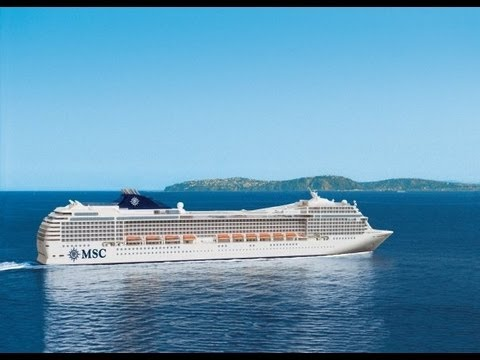 MSC MAGNIFICA hosts 3,223 guests over 13 decks and goes round the world