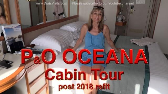 Mv OCEANA cabin tour – post 2018 refit