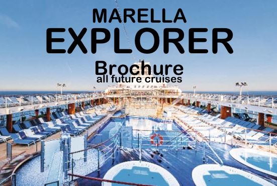 Marella Explorer – full list of future cruises on one 'at a glance' page