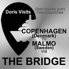 Malmo, Sweden to Copenhagen, Denmark by THE BRIDGE