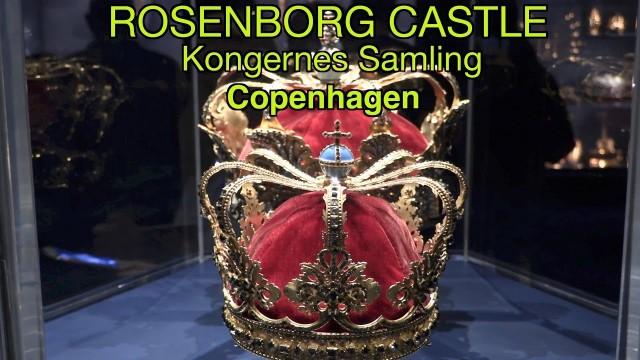 Rosenborg Castle, Copenhagen. Denmark