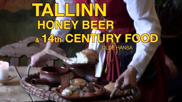 TALLINN – 14th Century restaurant food and beer – Olde Hansa near the Square