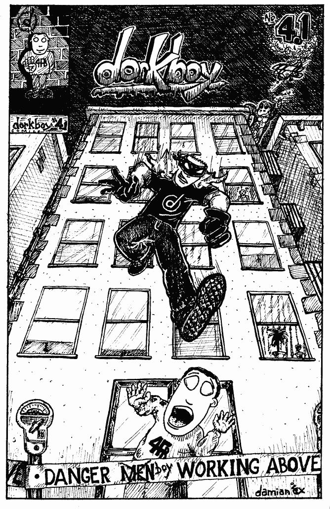 dorkboy issue 4.1 – cover