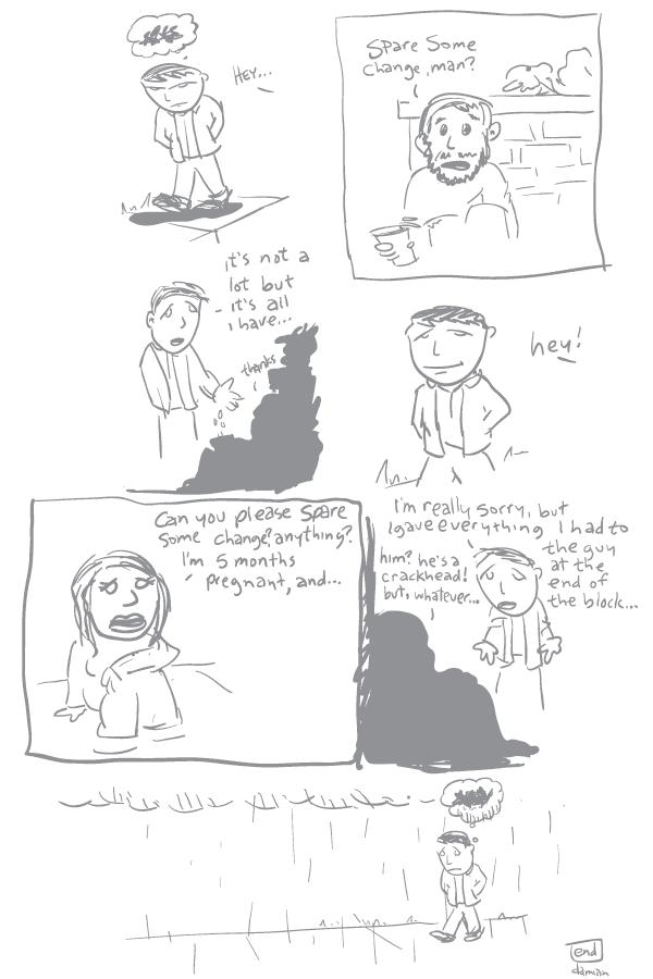 Comic Jam – Homeless p.1 – damian