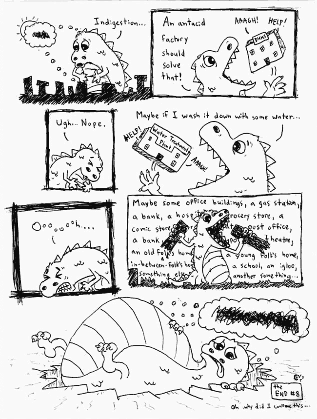 Comic Jam – Homeless p.8 – Conor