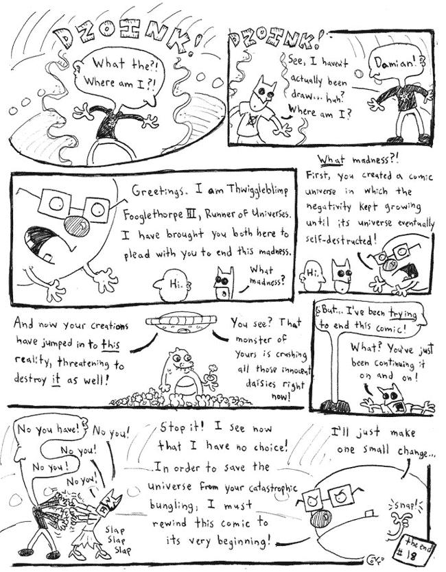 Comic Jam – Homeless p.18 – Conor