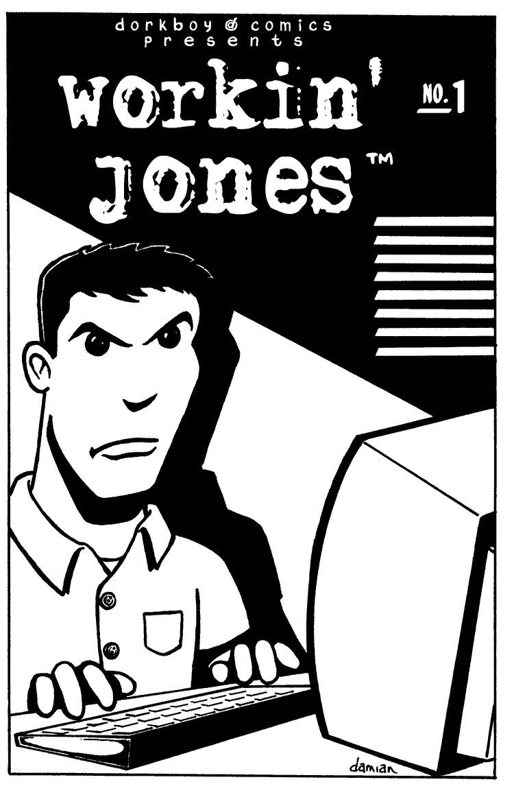 Workin' Jones #1 – cover