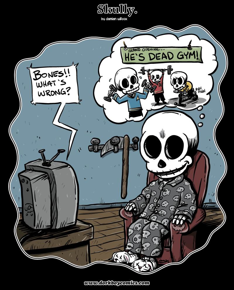 Skully – Skull Trek!