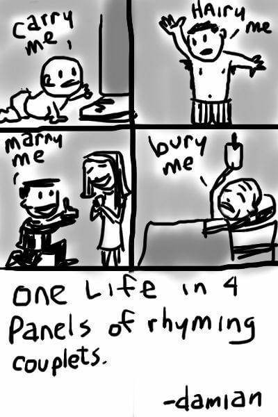 One Life 4 Panels