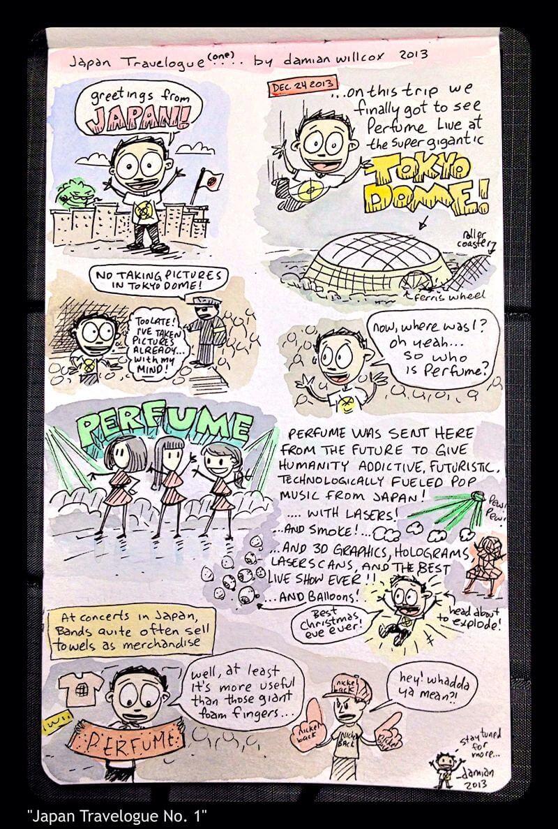 Japan Travelogue No. 1