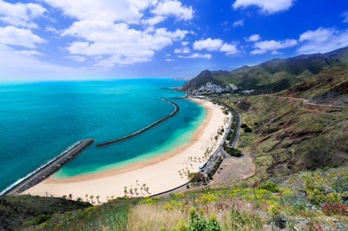Hot Tenerife Teresitas Beaches