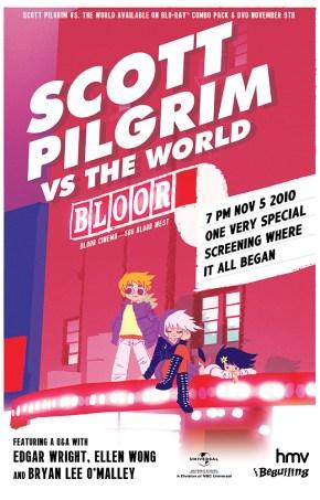 Free Scott Pilgrim vs. the World at the Bloor Cinema