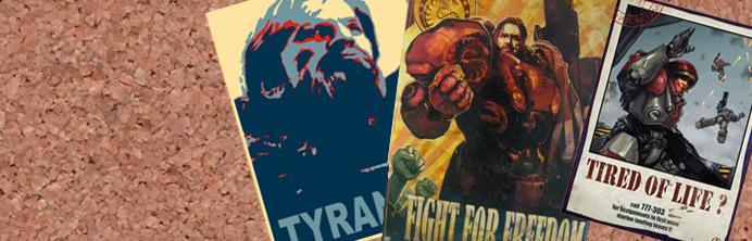 Starcraft Propaganda Posters