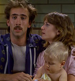 Raising Arizona - Nicolas Cage - Holly Hunter - F2