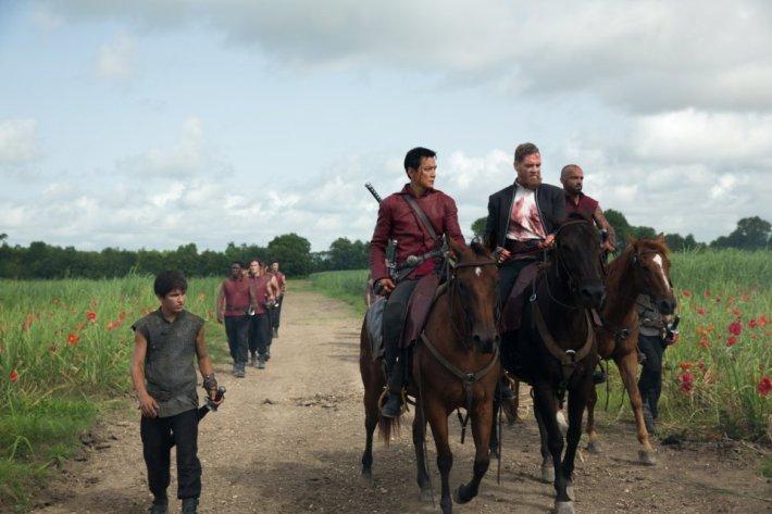 Into the Badlands - Aramis Knight Daniel Wu Martin Csokas