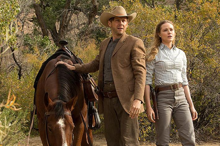 Evan Rachel Wood Jimmi Simpson Westworld