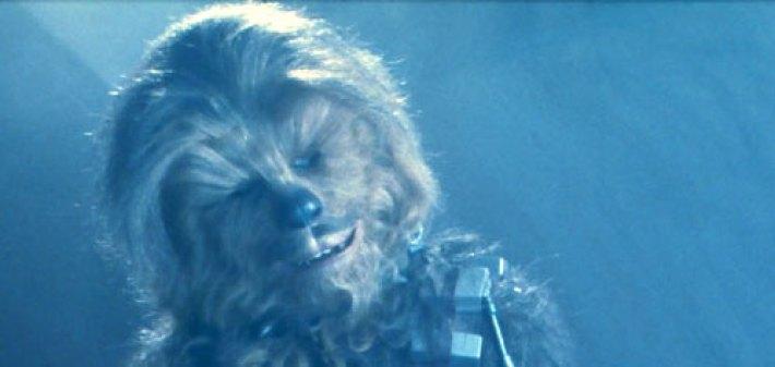 """Chewbacca in """"Return of the Jedi"""""""