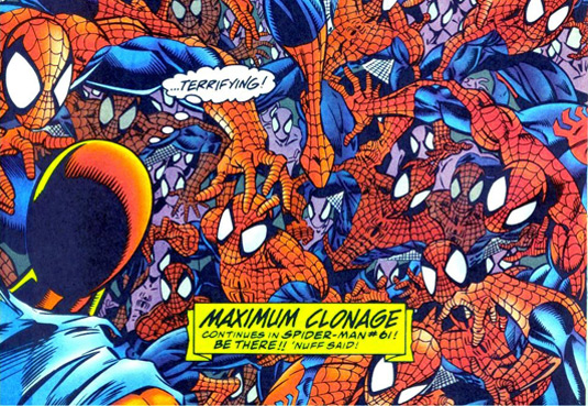 maximum clonage Marvel Launches 2099 Spider Man Ongoing Titles