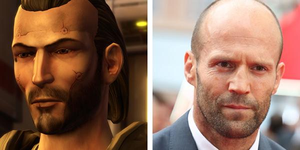 Jason Statham as Darth Revan