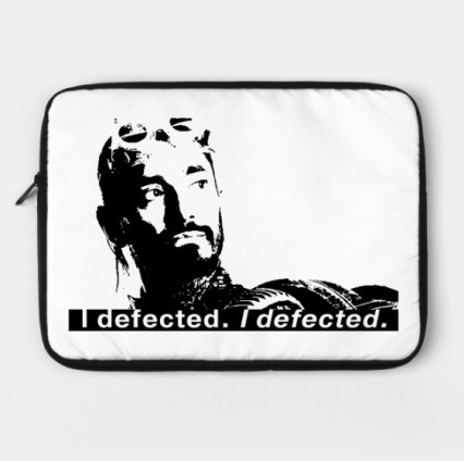 Bodhi Rook Defector laptop case from Dork Side Productions
