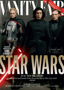 The Last Jedi Vanity Fair First Order Cover