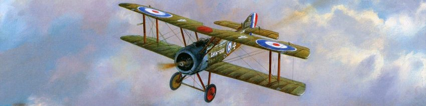 World War One Biplane