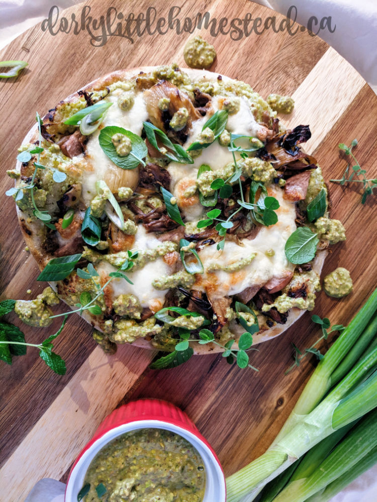 perfect spring pizza