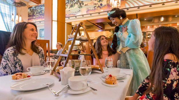dining with disney princess jasmine at napa rose