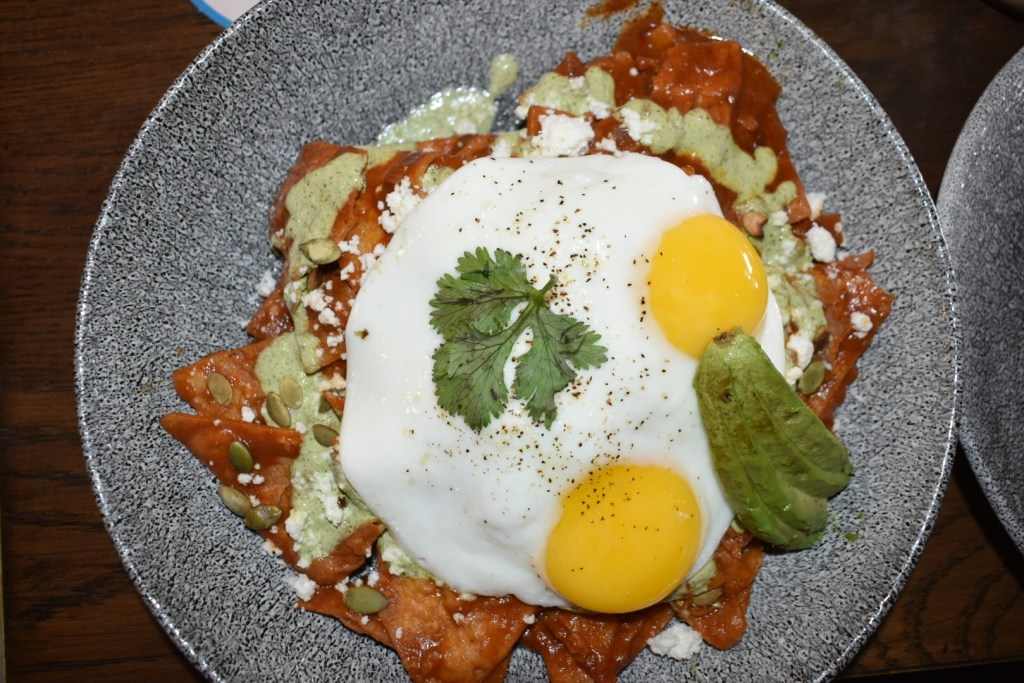 lamplight chilaquiles at lamplight lounge brunch