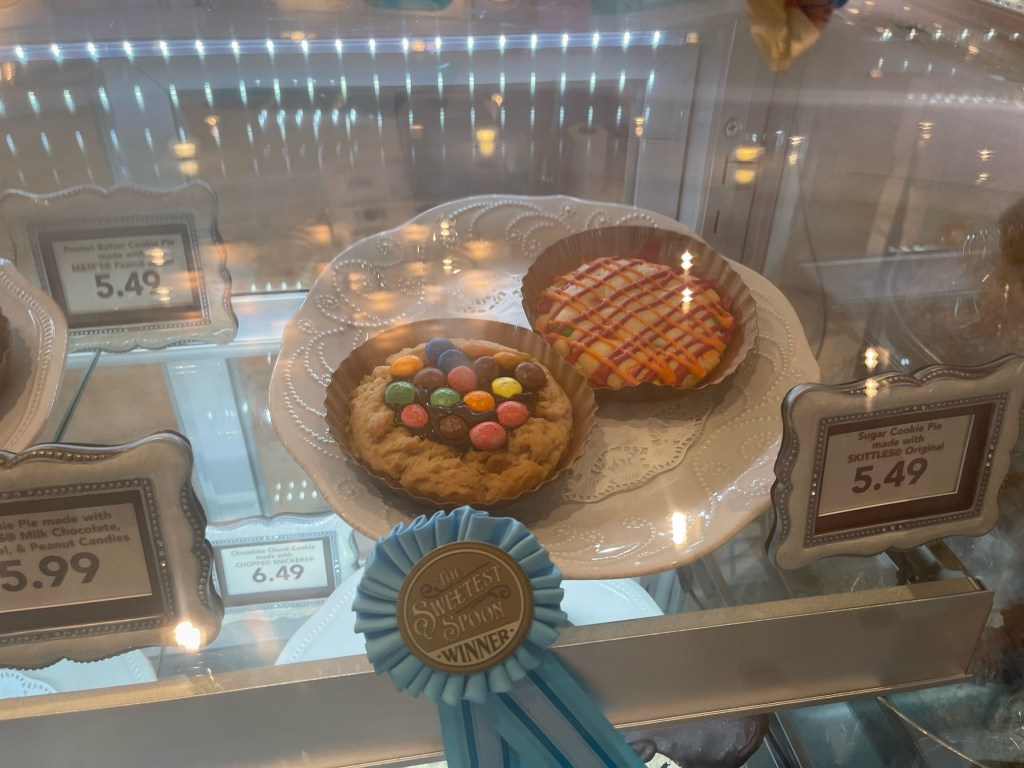 new skittles cookie at confectionery