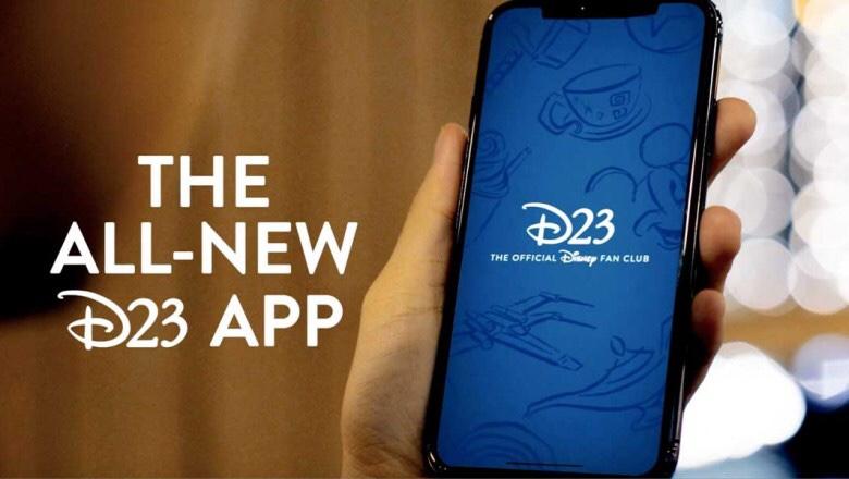 d23 launches new fan club app