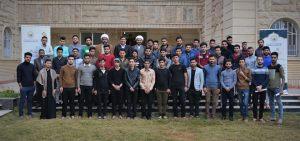 اختتام دورات التنمية الفكرية في قسم شؤون الاقسام الداخلية في جامعة كربلاء ..