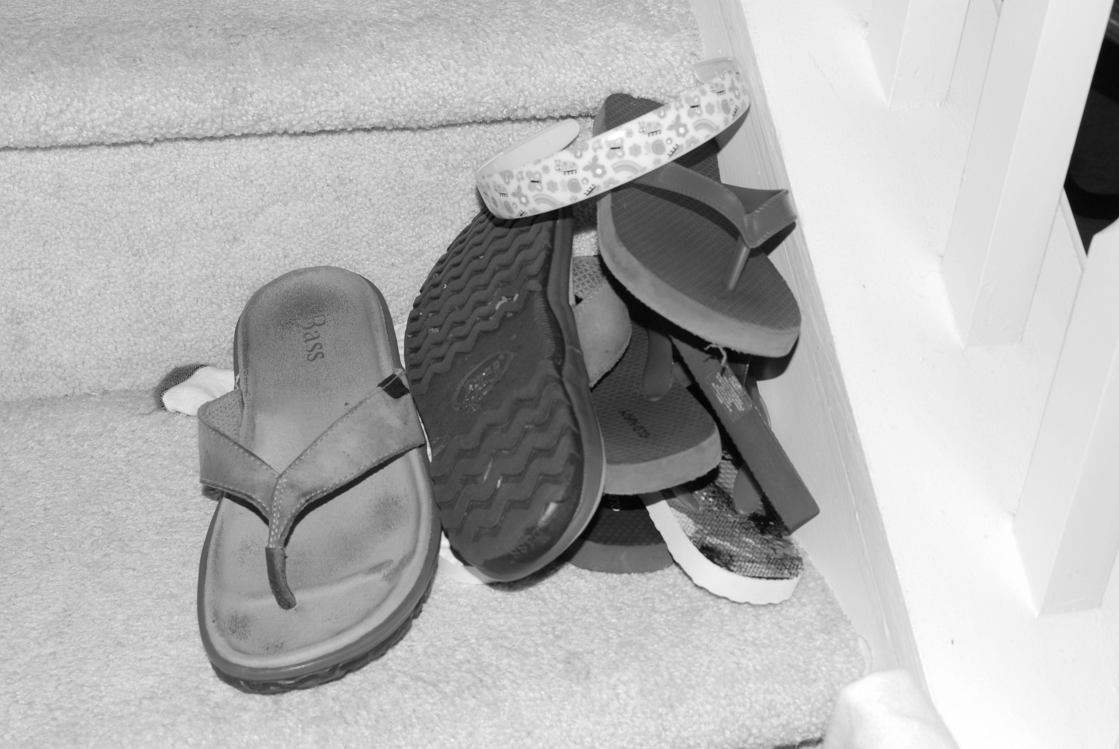 Clearly this house needs more flip-flops.  Clearly.