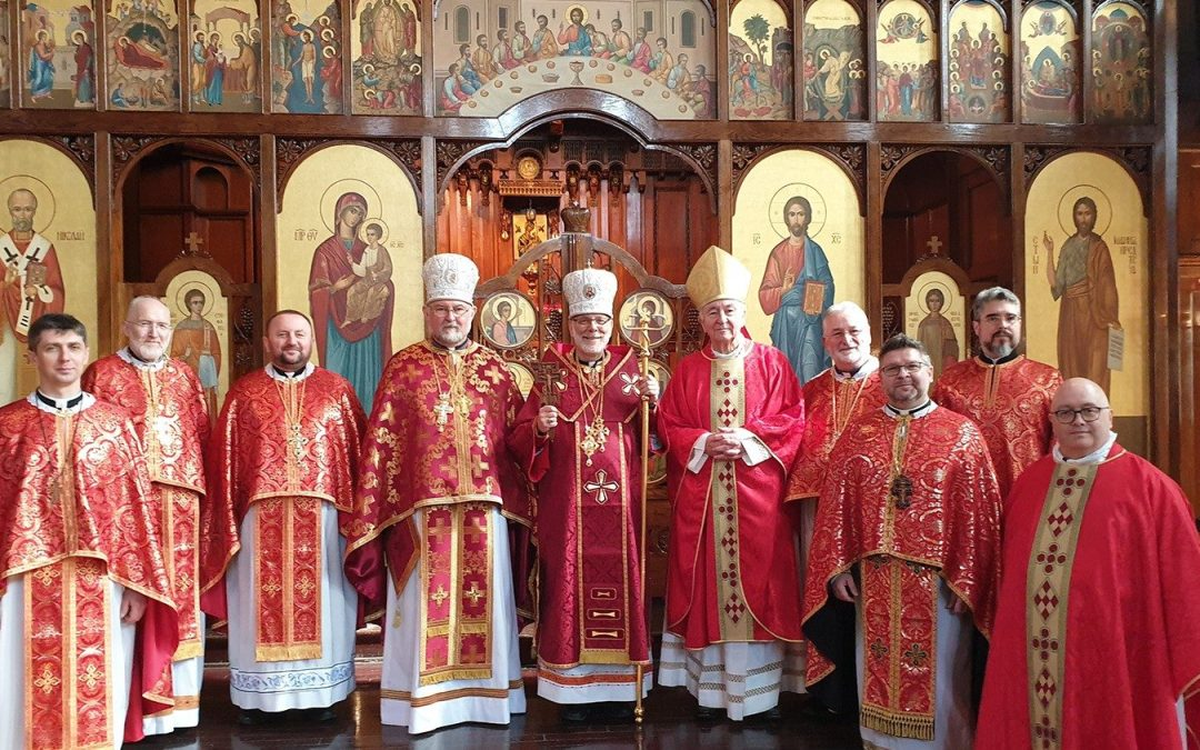 Video: Bishop Kenneth's enthronement in London and Bishop David's Greeting