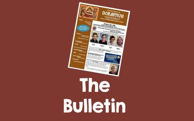 Bulletin for February 28, 2021
