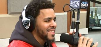 J. Cole Interview with Angie Martinez