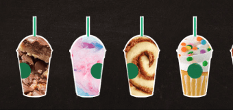 Six New Starbucks Frapps!
