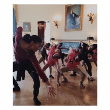 dance in the white house