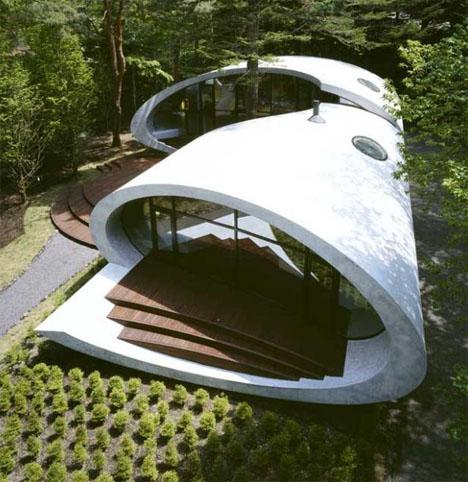 House Shaped Like A Sea Shell Designs Amp Ideas On Dornob