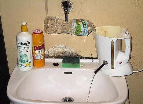 diy hot water fix