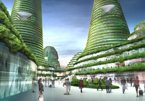 Sustainable City Of The Future By Mvrdv Designs Amp Ideas