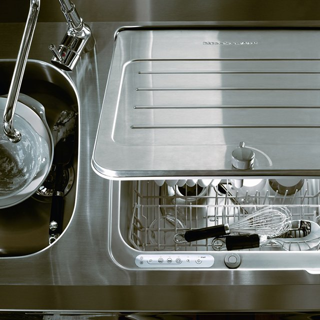 this compact dishwasher fits in your