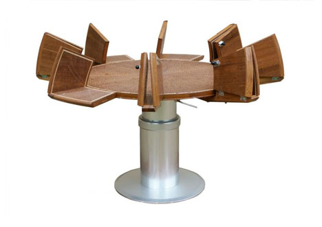 All In One Transforming Capstan Table Designs Amp Ideas On