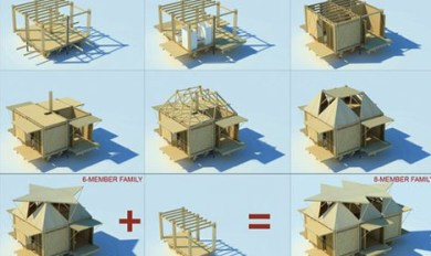 Wooden Pallet House Boat | Wooden Thing